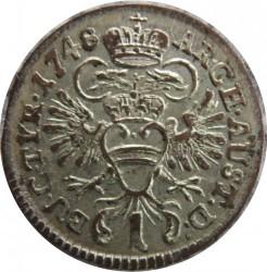 سکه > 1کرویزر, 1746-1759 - اتریش   (Maria Theresa - Eagle with arms of Austria) - reverse