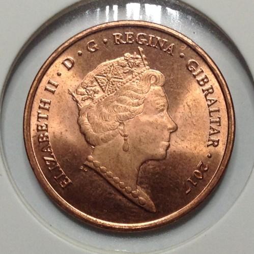 2 Pence 2017 Referendum Gibraltar Münzen Wert Ucoinnet