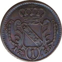 Coin > 1pfennig, 1759-1765 - Austria  (Francis I) - reverse
