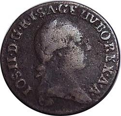 سکه > ¼کرویزر, 1781-1790 - اتریش   - obverse
