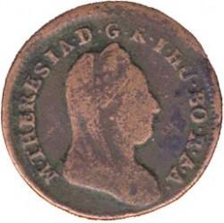 Монета > ½крейцера, 1780 - Австрія  (Марія Тереза) - obverse