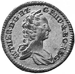 Moneta > 1kreuzer, 1756-1762 - Austria  - obverse