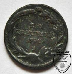 سکه > 1کرویزر, 1780-1790 - اتریش   - obverse