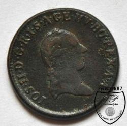 سکه > 1کرویزر, 1780-1790 - اتریش   - reverse