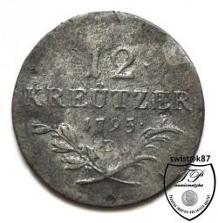 Монета > 12кройцера, 1795 - Австрия  - obverse