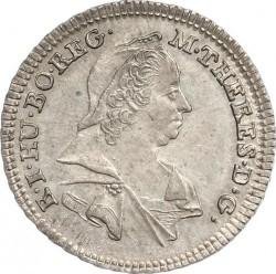 Монета > 3крейцера, 1765-1780 - Австрія  - obverse