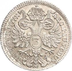 Монета > 3крейцера, 1765-1780 - Австрія  - reverse