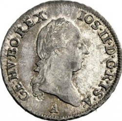 سکه > 3کرویزر, 1782-1790 - اتریش   - obverse