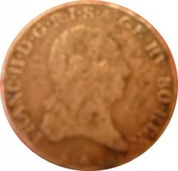 Moneta > 3krajcary, 1792-1799 - Austria  - obverse