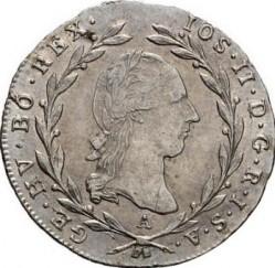 Minca > 5grajciarov, 1788-1790 - Rakúsko  - obverse