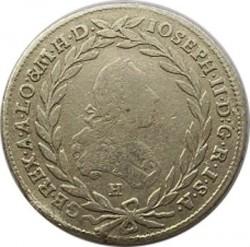 Монета > 10кройцера, 1765-1780 - Австрия  (Joseph II) - obverse