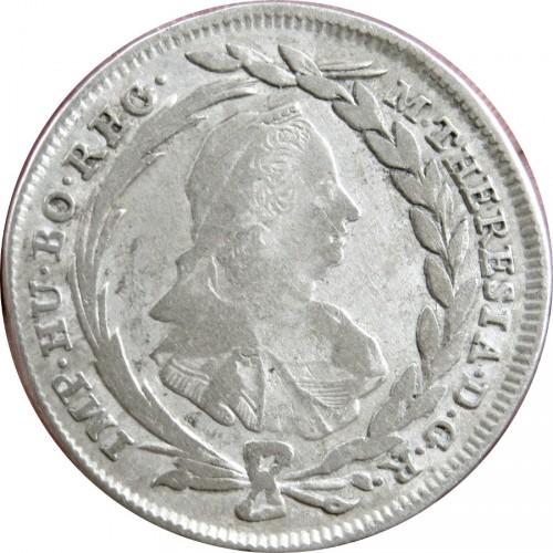10 Kreuzer 1768 1780 Maria Theresia Wien österreich Münzen