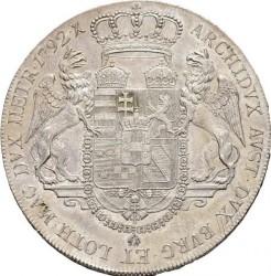 "Монета > 1талер, 1792 - Австрия  (Francis II - Lettering ""LEGE ET FIDE"") - reverse"