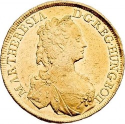 سکه > 5دوكات, 1745 - اتریش   (Maria Theresa) - obverse