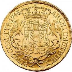 سکه > 5دوكات, 1745 - اتریش   (Maria Theresa) - reverse