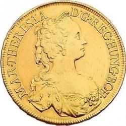 Монета > 6дуката, 1741-1743 - Австрия  - obverse