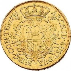 Монета > 6дуката, 1741-1743 - Австрия  - reverse