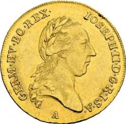 Монета > 2дуката, 1783-1787 - Австрия  - obverse
