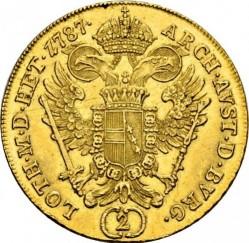 Монета > 2дуката, 1783-1787 - Австрия  - reverse