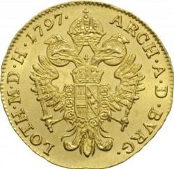 Монета > 1дукат, 1792-1804 - Австрія  - reverse