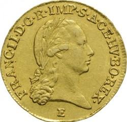 Монета > 1дукат, 1792-1804 - Австрия  - obverse