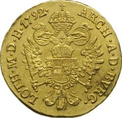 Монета > 1дукат, 1792-1804 - Австрия  - reverse