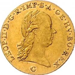 Монета > 1дукат, 1790-1792 - Австрия  - obverse