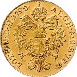 Монета > 1дукат, 1790-1792 - Австрия  - reverse