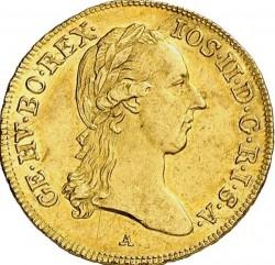 Монета > 1дукат, 1780-1790 - Австрия  - obverse