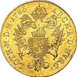 Монета > 1дукат, 1780-1790 - Австрия  - reverse
