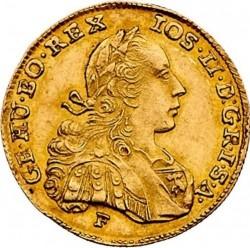 "Монета > 1дукат, 1781-1786 - Австрия  (Надпис ""ARCH·AUST·D·BU·LO·M·DUX·HET"") - obverse"