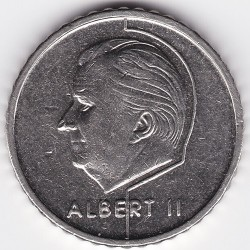 Кованица > 50 франака, 1994-2001 - Белгија  (Legend in Dutch - 'BELGIE') - reverse