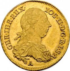 Монета > 1дукат, 1768-1780 - Австрія  - obverse