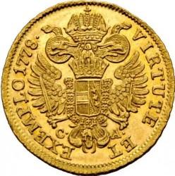 Монета > 1дукат, 1768-1780 - Австрія  - reverse