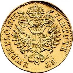 Moneta > 1dukat, 1768-1780 - Austria  - reverse