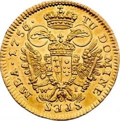 Монета > 1дукат, 1745-1765 - Австрія  (Франц І) - reverse