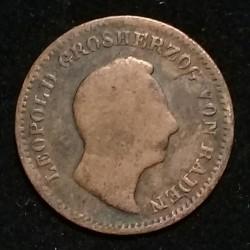 Moneda > ½kreuzer, 1842-1852 - Baden  - obverse