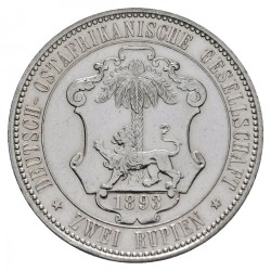 Монета > 2рупии, 1893-1894 - Германска Източна Африка  - reverse