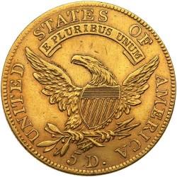 Moneda > 5dólares, 1807-1812 - Estados Unidos  (Capped Bust) - reverse
