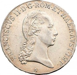 Монета > ½талера, 1804-1806 - Австрія  - obverse