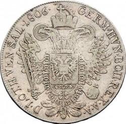Монета > ½талера, 1804-1806 - Австрія  - reverse