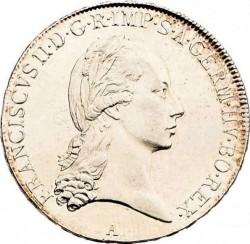 Монета > ½талера, 1792-1804 - Австрія  - obverse