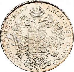 Монета > ½талера, 1792-1804 - Австрія  - reverse