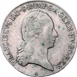 Moneta > ½thaler, 1792-1804 - Austria  - obverse