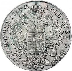 Moneta > ½thaler, 1792-1804 - Austria  - reverse