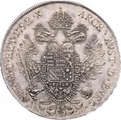 Moneta > 1thaler, 1790-1792 - Austria  - reverse