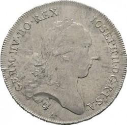 Moneta > ½thaler, 1781-1790 - Austria  - obverse