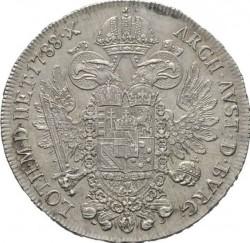 Moneta > ½thaler, 1781-1790 - Austria  - reverse