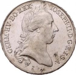 Монета > 1талер, 1781-1790 - Австрія  - obverse