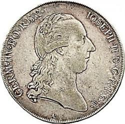 Moneta > 1thaler, 1781-1790 - Austria  - obverse